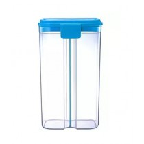 Az-Zahra 2 in 1 Plastic Jar Blue