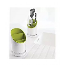 Az-Zahra Cutlery Drainer White/Green