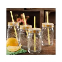 Az-Zahra Mason Glass Jar 500gm Pack Of 4