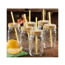 Az-Zahra Mason Glass Jar 500gm Pack Of 6
