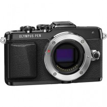Olympus Black Mirrorless Micro Four Thirds Digital Camera (PEN E-PL7)