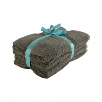 Bath & Home Egyptian Bath Towel Ash Grey Pack Of 4 (208)