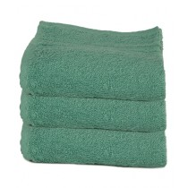 Bath & Home Egyptian Face Towel Green Pack of 3