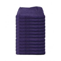 Bath & Home Egyptian Face Towel Purple Pack Of 12 (188)