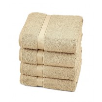 Bath & Home Egyptian Hand Towel Beige Pack of 4