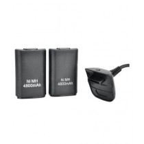BazingaPk 3-in-1 4800mAh Battery For Xbox Pack Of 2