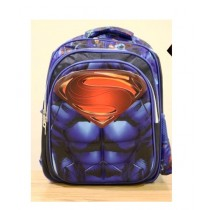 BazingaPk Superman 3D School Backpack For Kids