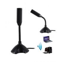 BazingaPk USB Microphone Mic With Stand