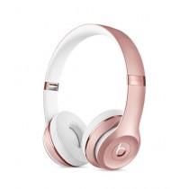 Beats Solo 3 Wireless Bluetooth On-Ear Headphones Rose Gold