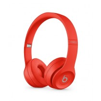 Beats Solo 3 Wireless Bluetooth On-Ear Headphones Red