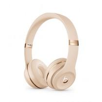 Beats Solo 3 Wireless Bluetooth On-Ear Headphones Satin Gold