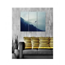 BednShines Digitally Printed Canvas Wall Frames Set Of 3 (EI-0082)