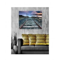 BednShines Digitally Printed Canvas Wall Frames Set Of 3 (EI-0087)