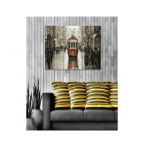 BednShines Digitally Printed Canvas Wall Frames Set Of 3 (EI-0094)