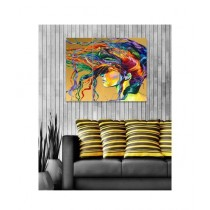 BednShines Digitally Printed Canvas Wall Frames Set Of 3 (EI-0102)