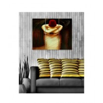 BednShines Digitally Printed Canvas Wall Frames Set Of 3 (EI-0167)