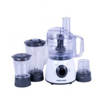 Black & Decker Food Processor with Blender & Grinder (FX400BMG)
