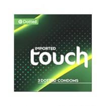 Blue Zone PCS PCS Touch Condoms Pack of 3