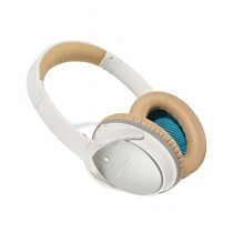 Bose QuietComfort 25 Acoustic Noise Headphones White For Apple Devices