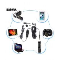 GEonline Boya Lavalier Microphone Black (BY-M1)