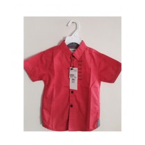 Treasure World Casual Shirt For Baby Boys Red
