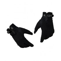 Brand Mall Military 511 Full Finger Gloves - Black