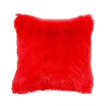 Brand Mall Soft Cuddly Cushion Red
