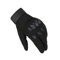 Brand Mall Tactical Gloves For Men - Black