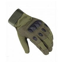 Brand Mall Tactical Gloves For Men - Green