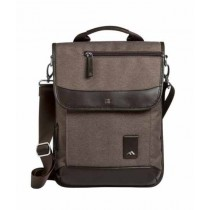 Brenthaven Medina Messenger Bag for iPad Mini 4 Chestnut (2331)