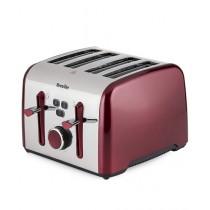 Breville Colour Notes 4 Slice Toaster Red (VTT628)