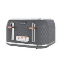Breville Curve 4-Slice Toaster Grey (VTT912)