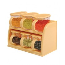 BS Store 6 Box Spice Rack