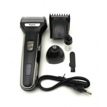 Kemei  3 In 1 Rechargeable Electric Shaver (KM-6332)
