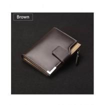 Burhani E-Mart Luxury Leather Wallet For Men Brown