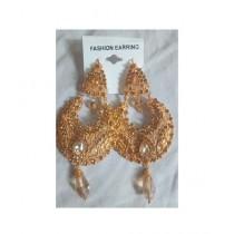 Bushrah Collection Golden Earring (0037)