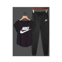Jafri's Store Nike Printed Track Suit For Men Black (0393)