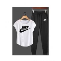 Jafri's Store Nike Printed Track Suit For Men White (0398)