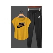 Jafri's Store Nike Printed Track Suit For Men Yellow (0403)