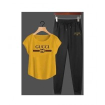 Jafri's Store Gucci Printed Track Suit For Men Yellow (0407)