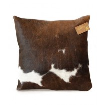 Uroosa Cow Hide - Hair on Cushion Multicolor (C-002)