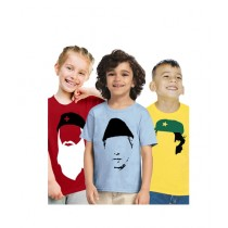 C-Tees Independence Day T-Shirt For Kids Pack Of 3 (CKT10393)