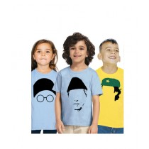 C-Tees Independence Day T-Shirt For Kids Pack Of 3 (CKT10395)