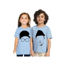 C-Tees Jinnah & Liaquat Ali Khan T-Shirt For Kids Pack Of 2 (CKT10390)