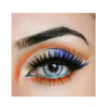 C-Tees Natural Color Contact Lens With Free Kit Glitter Grey (0316)