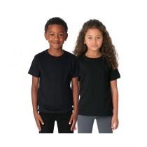 C-Tees Pack Of Two Plain T-Shirt For Kids Black (CKT10049)