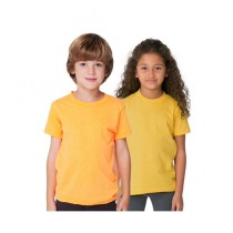 C-Tees Pack Of Two Plain T-Shirt For Kids Yellow (CKT10051)