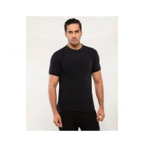 C-Tees Plain Black T-Shirt For Men (CKT10000)
