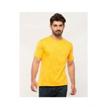 C-Tees Plain Yellow T-Shirt For Men (CKT10002)
