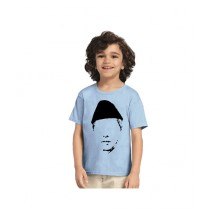 C-Tees Quaid e Azam Muhammad Ali Jinnah Blue T-Shirt For Boys (CKT10388)